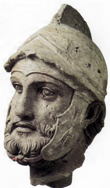 Parthian Soldier circa 2nd c. BC
