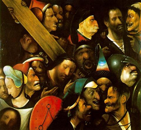 Bosch - Christ carrying the cross