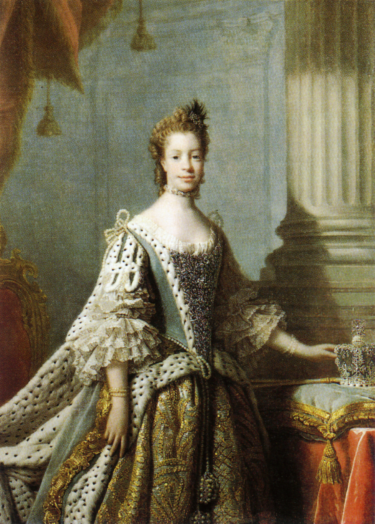 Charlotte Of Mecklenburg Was A White Woman And Not A