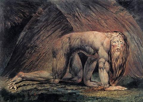 WilliamBlake-Nebukadnezar2