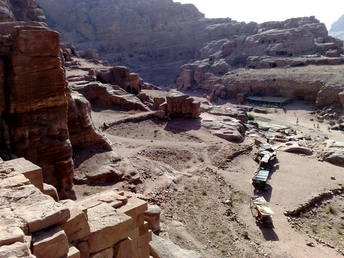 Petra in Jordan today, the ancient Mount Seir